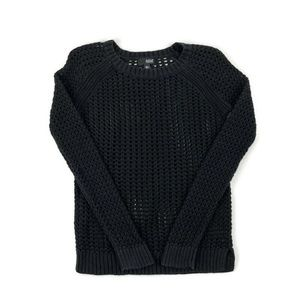 ANA A New Approach Womens Sweater Black Small